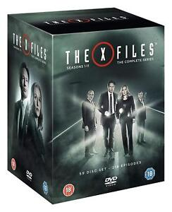 The X Files Complete seasons Series 1+2+3+4+5+6+7+8+9 +10+11 DVD Box Set R4