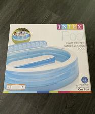 "New listing Brand New Intex Swim Center Inflatable Family Lounge Pool, 90"" X 86"" X 31"""