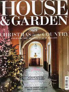 HOUSE AND GARDEN MAGAZINE JANUARY 2020 EDITION
