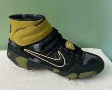 Men's Nike Alpha Huarache Elite Mid LE Military Camo Cleats AV2471-001 Size 12