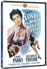 LOVE IS BETTER THAN EVER (Elizabeth Taylor)  Region Free DVD - Sealed