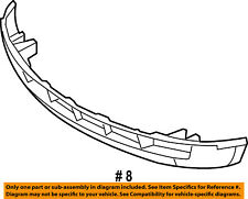 FORD OEM 07-10 Edge Front Lower Bumper-Spoiler Chin Lip 7T4Z17D957B
