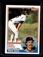 1983 TOPPS WADE BOGGS EXMT+/NM( CORNER/SURFACEWEAR) RC BOSTON RED SOX