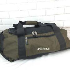 Vtg Columbia Sportswear Travel Duffel Gym Overnight Bag Tote Carry On Gear Bag