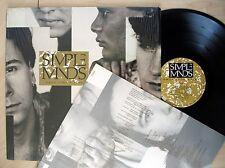 Simple MINDS Once Upon a Time + interno A1U B2U UK LP Virgin V2364 1985 EX/EX