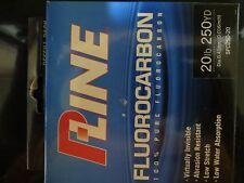 FISHING LINE - PLine - Fluorocarbon - 20lb/250yd - Qty 1
