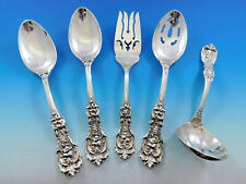 New listing Francis I Old by Reed & Barton Sterling Silver Essential Serving Set Large 5-pc