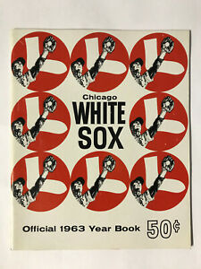 1963Chicago White Sox Official YearBook in MINT CONDITION