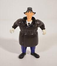 "1991 Inflatable Suit Inspector Gadget 3.5"" Detective Action Figure Burger King"