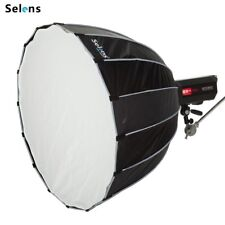 Selens 90cm Hexadecagon Softbox Parabolic Umbrella Flash Studio Diffuser Bowens