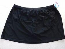 NEW $46 WOMENS Swim SKIRT w/briefs Croft & Barrow SIZE 26W tummy slimmer = #R21