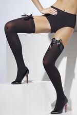 Halterlose Damen-Strümpfe aus Nylon für glamouröse Anlässe