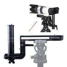 Teleobjektiv Halterung Objektivschiene Kameraplatte für Kugelkopf Stativ Schelle
