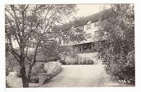 1952 RPPC BENBOW CA HOTEL DRIVEWAY VINTAGE REAL PHOTO POSTCARD CALIFORNIA OLD !!