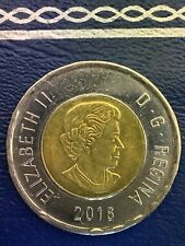 Canada 2016 Toonie Canadian $2 Dollars Two Dollar EXACT COIN SHOWN