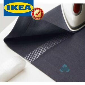 IKEA SY Iron-On Hemming Tape for Curtains Pants Sewing Easy To Use Hem 33'