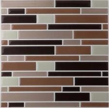 "12 sheets Mosaic Magic Gel Backsplash Wall Tiles Self Adhesive 9.12"" X 9.12"""