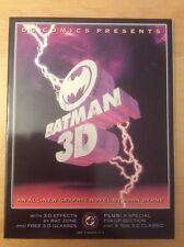 DC COMICS PRESENTS BATMAN 3D, NM+ 9.6, 1ST PRINT, W/ GLASSES, 1990, OOP FLAWLESS