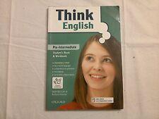 Think English - Pre Intermediate - Oxford - Mark Bartram - Richard Walton 2008