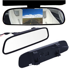 "Latest 4.3"" TFT LCD Color Car Reverse Rear View Mirror Monitor for Backup Camera"