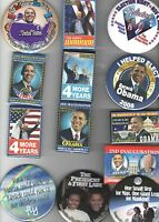 13 2008 - 2013 pin OBAMA BIDEN Campaign pinback INAUGURATION