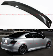 2004-2010 SCION tC OE STYLE REAL CARBON FIBER REAR TRUNK LID SPORT SPOILER WING