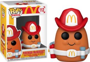 "McDonald's FIREMAN McNUGGET 3.75"" POP VINYL FIGURE AD ICONS BRAND NEW 112"