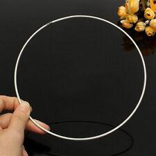 5pcs/ Set Welded Metal Dream Catcher Ring Macrame Craft Hoop DIY Circle Tools