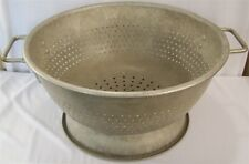 Restaurant Supplies 16 Quart Aluminum Colander With Footed Base Amp Riveted Handle
