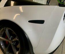 2005-2013 C6 Corvette Full Strip LED Smoked Blackout Side Marker Lights Package
