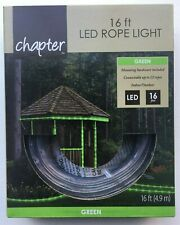 """Chapter 16ft LED Rope Light """"GREEN"""" - Connect up to 12 ropes - Indoor/Outdoor"""