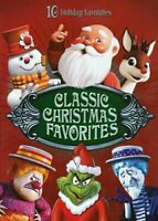Classic Christmas Favorites - 10 Holiday Favorites (4 Disc) DVD NEW