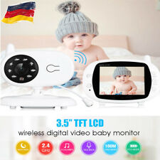 3.5 Zoll LCD Babyphone Baby Video Monitor Wireless Babyfone Babyviewer Nachtsich