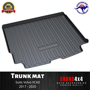 Heavy Duty Cargo Rubber Boot Liner Trunk Mat for Volvo XC60 2017 - 2020