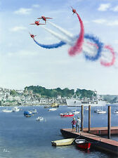 Robert Tomlin - The Corkscrew - Special Edition - The Red Arrows Signed Print