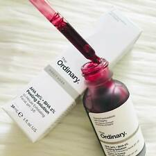 THE ORDINARY PEELING SOLUTION AHA 30% + BHA 2% 10 MINUTE EXFOLIATING FACIAL 30ML