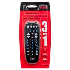 RCA RCU703SPR replace Universal Multi Brand 3 Device Universal Remote Controller