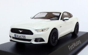 Norev 1/43 Scale Model Car 270556 - 2015 Ford Mustang - White