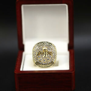 Kobe Bryant Los Angeles Lakers Retirement Championship Ring New With Box