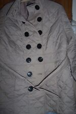 THREE QUARTER LENGTH COAT NEUTRAL NEW 18/20