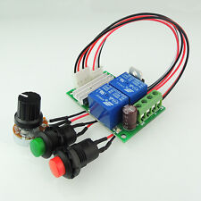 PWM DC motor governor 6V12V24V positive reverse switch electric push rod button