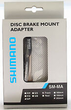 Shimano SM-MA-F203S/P Disc Brake Adapter Front 203mm, IS Caliper/PM Fork