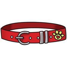 "Imaginisce Good Dog ""Collar"" Clear Stamp!"