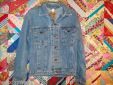Faded Glory Denim Jacket Emo Distress vintage Rocker Medium