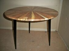 Side Table Acacia Metal + Solid Wood Gutmann FACTORY