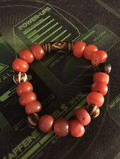Ancient Pumtek and Pema Raka Agate Bead Bracelet Real Collectible