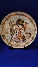 Limited Etd Heirloom Franklin Mint Frosty the Snowman David Paris Craig w/Co