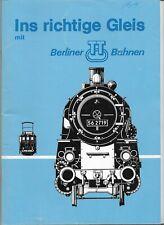 Berliner Bahnen TT Track Information Catalog 1980