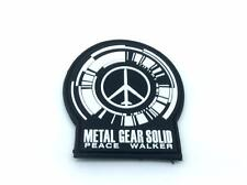 Peace Walker Metal Gear Solid Cosplay Airsoft PVC Patch