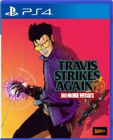 Travis Strikes Again: No More Heroes Complete Edition Asia Chi/Eng PS4 BRAND NEW